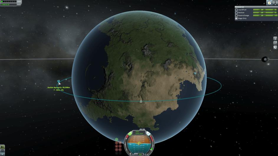 how to get infinite fuel in kerbal space program