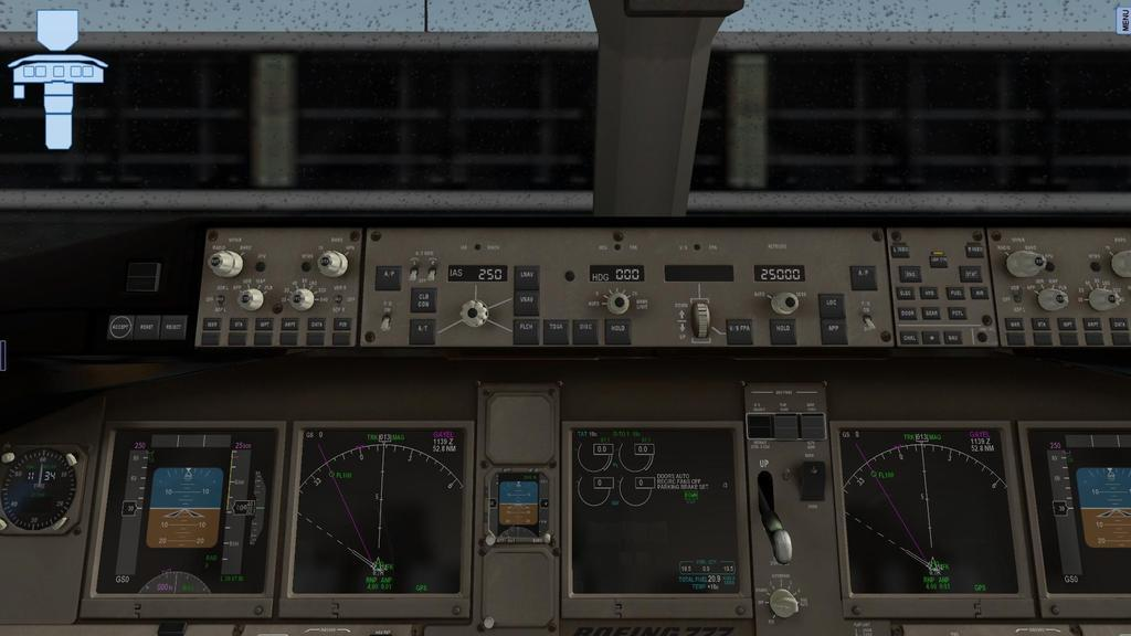 Flying the Boeing 777 In X-Plane---AAR - Screens & AARs