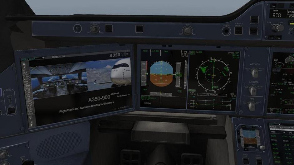 a350 flight factor x plane 11