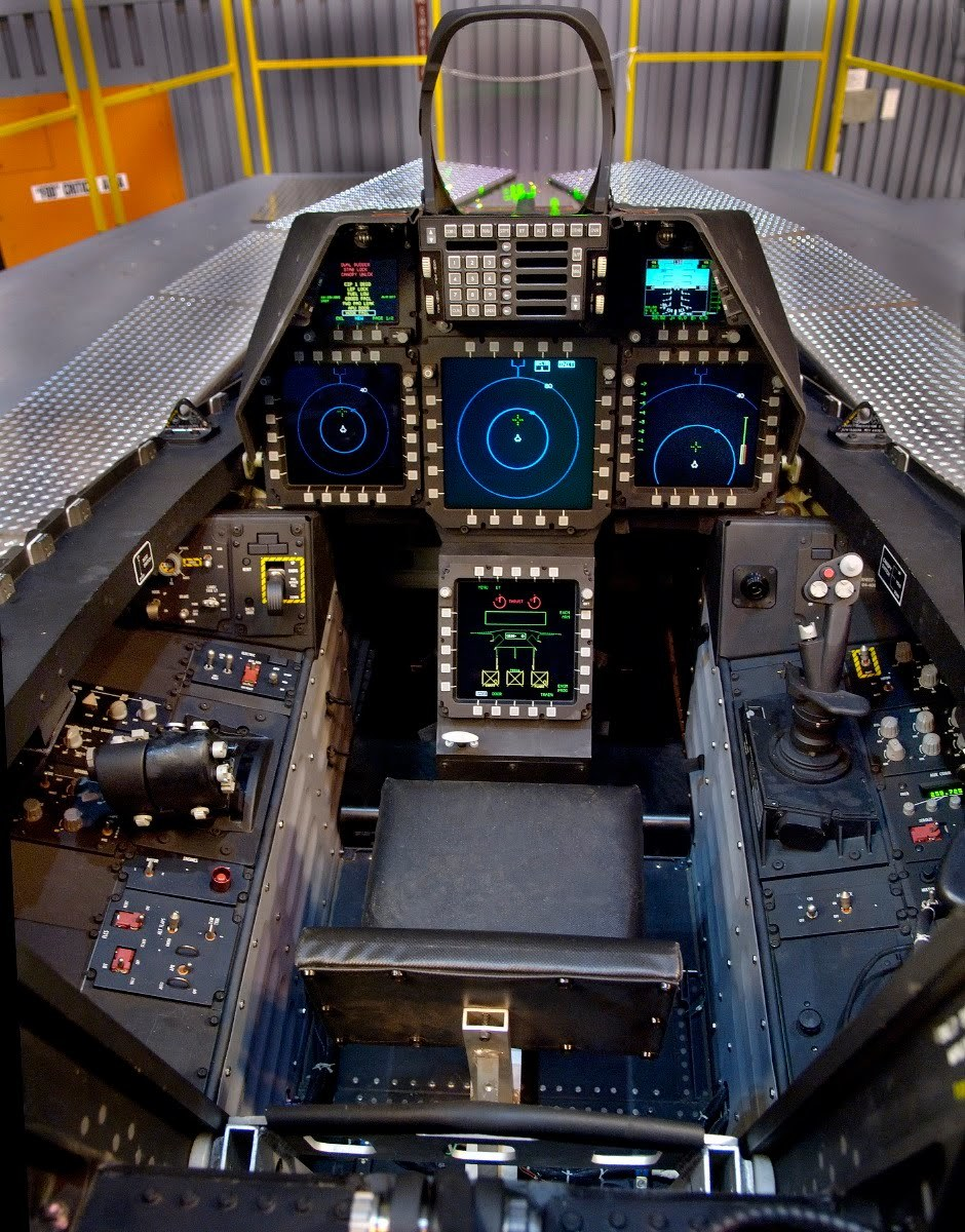 F22 Raptor Cockpit  Reliable Security Information